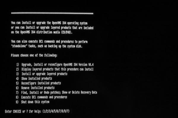 vaxmacro - OpenVMS I64
